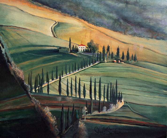 Jim Smither  Title:The Heart of Tuscany