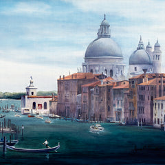 Jim Smither  Title:Venice - Mouth of the Grand Canal