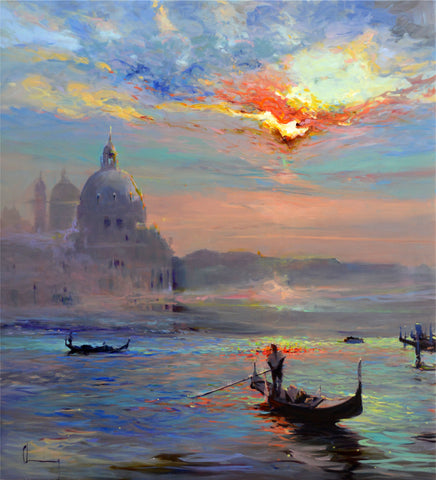 Chuck Larivey OPA Title: Venice, Another Time