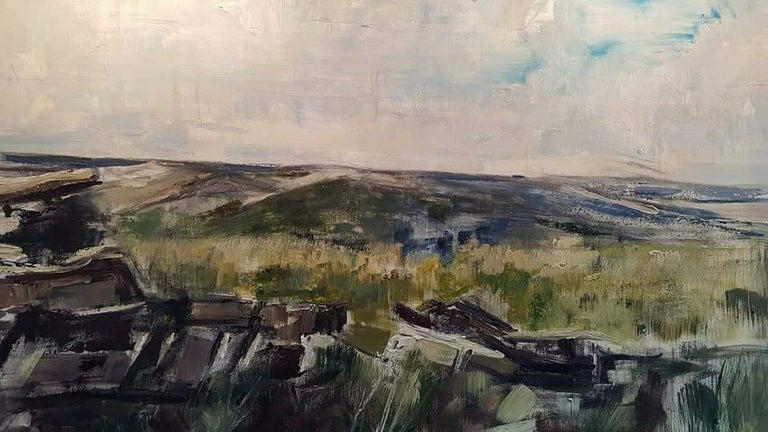 Elaine Murkin Title: View From The Top Of Mam Tor