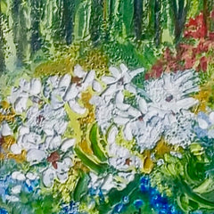 Lowell Owsley Title: White Daisy Flowers