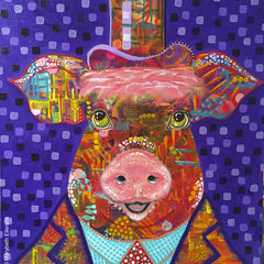 Marybeth Eilerson Title:Wilbur Fitzgerald, Some Pig