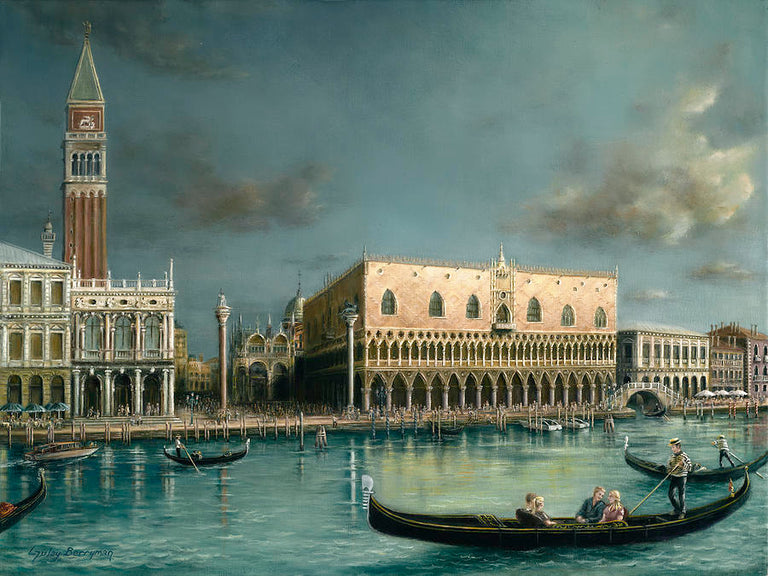 Gulay Berryman Title: Holiday in Venice