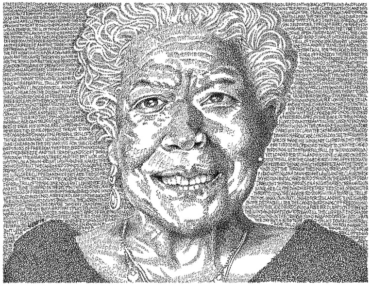 Forrest Young Title: Maya Angelou