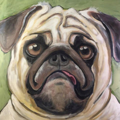 Ruth Reilly Palczynski Title:Pug Luv