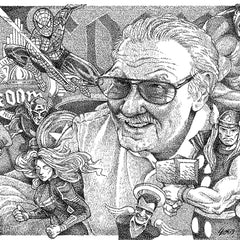 Forrest Young Title: Stan Lee