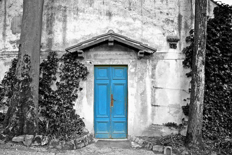 Architectural - Blue Door Redux