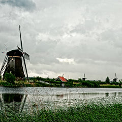 Bill Gilmore Title: Windmills of Holland