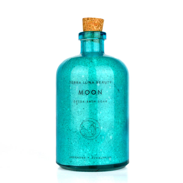 Moon Detox Bath, Lavender and Eucalyptus