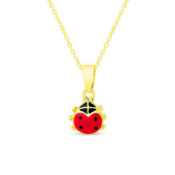 Ladybug Children's Necklace