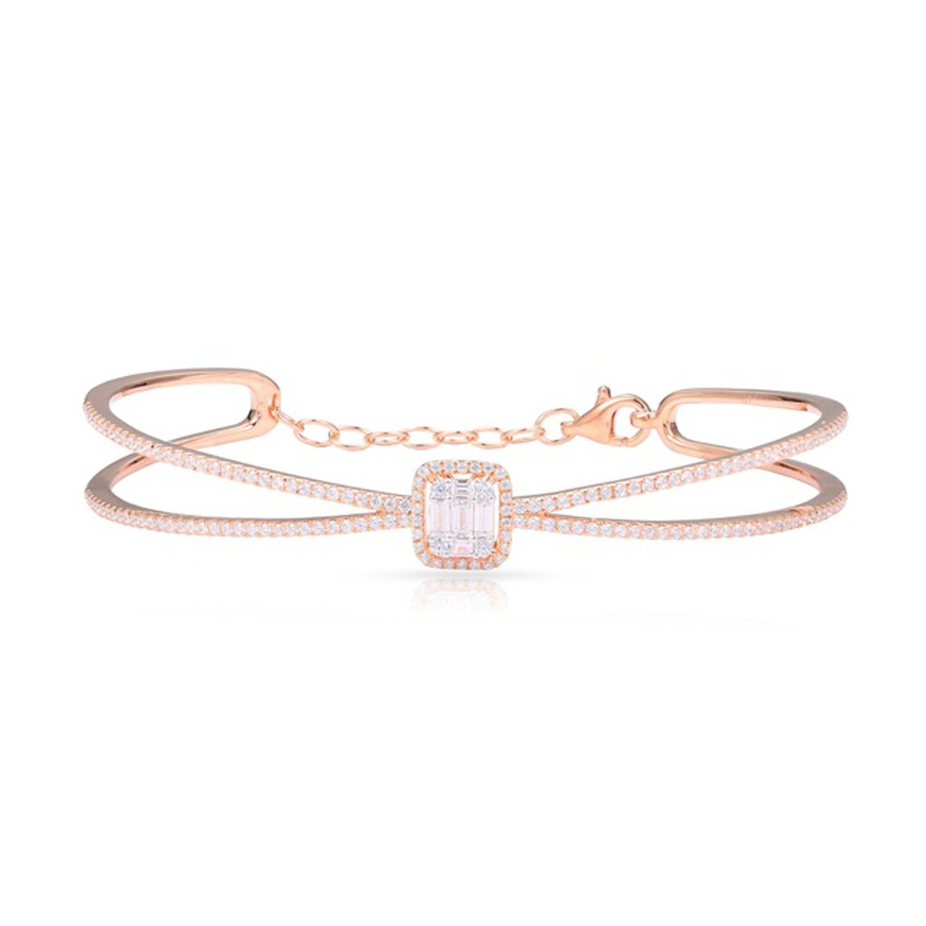 14kt Rose Gold Bangle