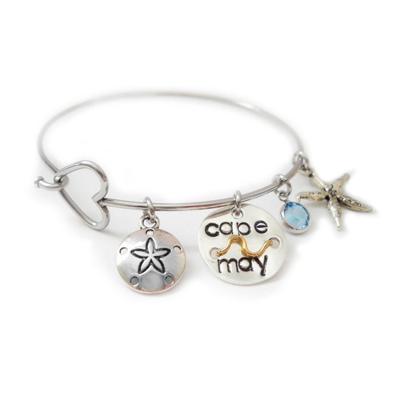 Cape May Heart Bangle