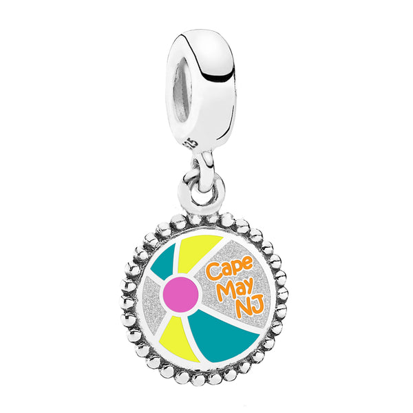 Cape May Beach Ball Pandora Charm