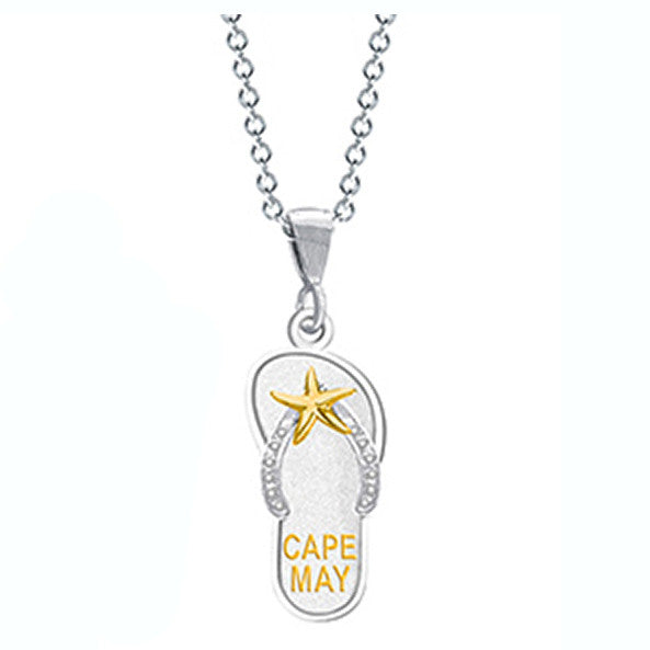 Cape May Flip Flop Pendant