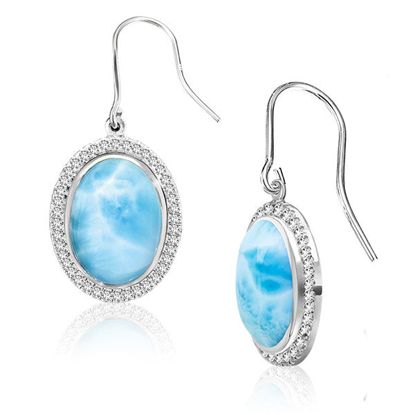 Clarity Oval Earrings