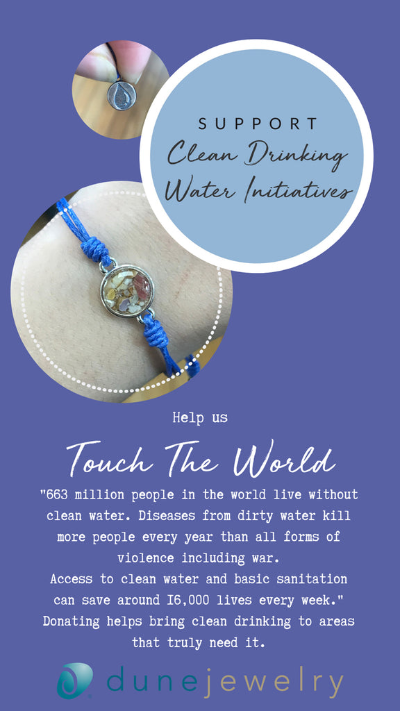 Touch The World Bracelet by Dune Jewelry