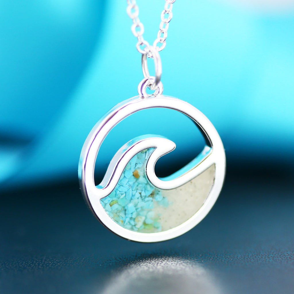 Cape May Sand Wave Pendant by Dune Jewelry