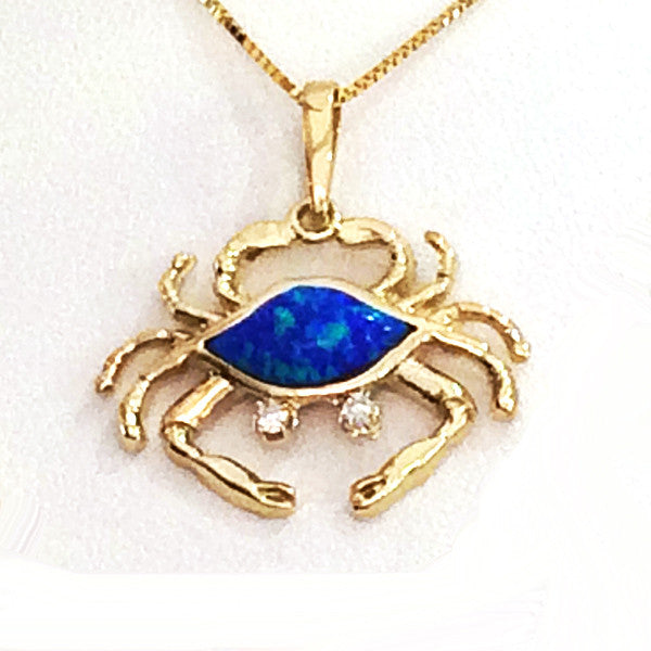 Crab Pendant - small