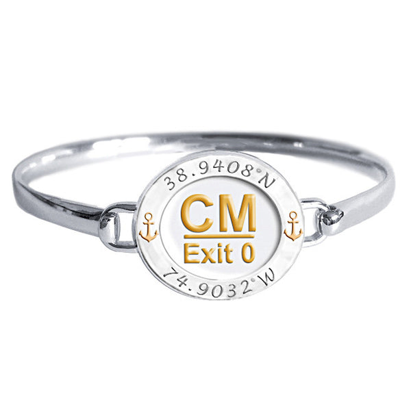 Cape May Latitude / Longitude Bracelet