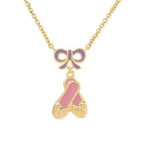 Ballet Necklace for Children