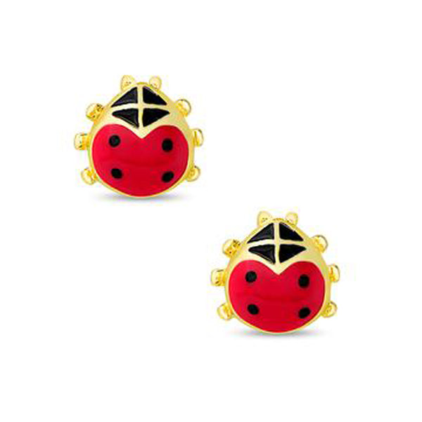Ladybug Earrings for Children