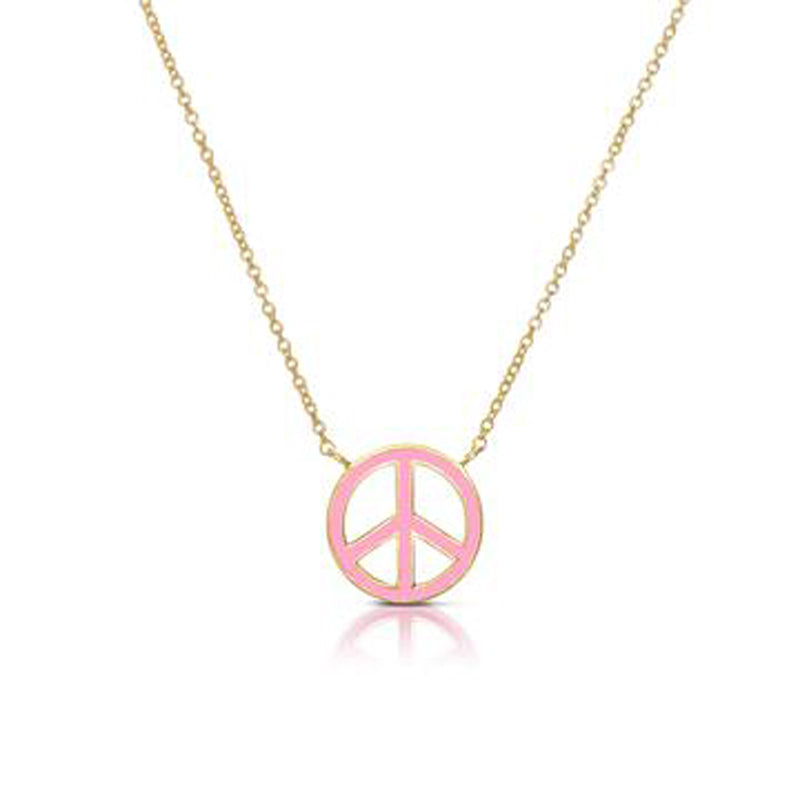 Peace Sign Necklace for Children