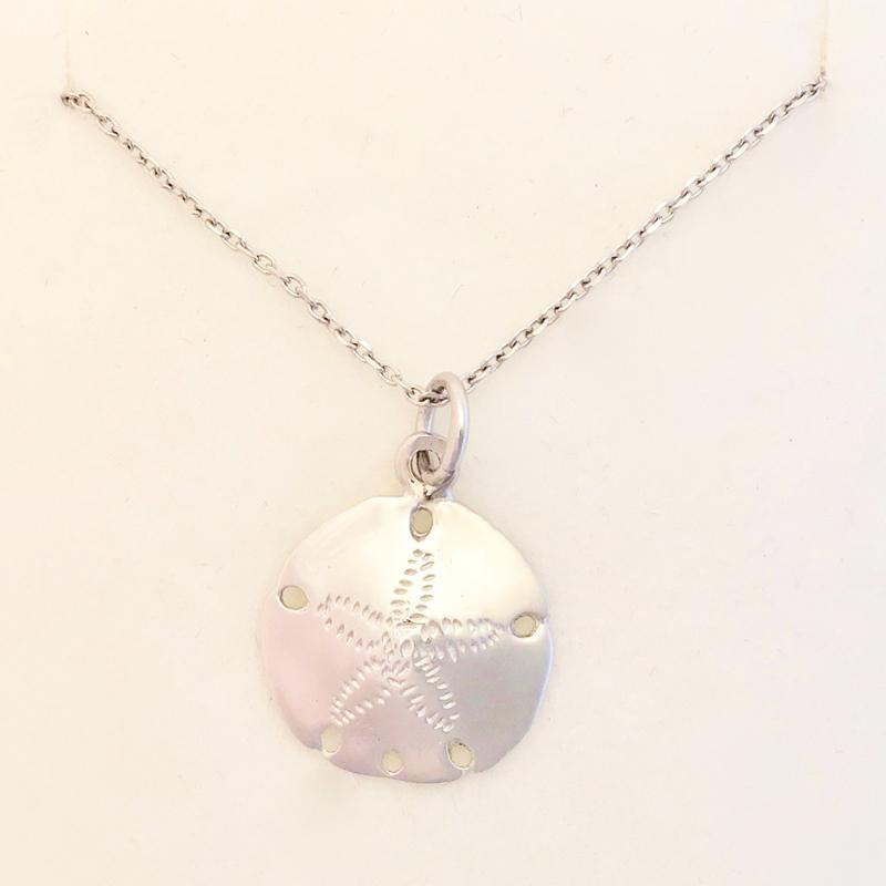 Sand Dollar Small Pendant