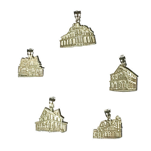 Sterling Silver Victorian Houses