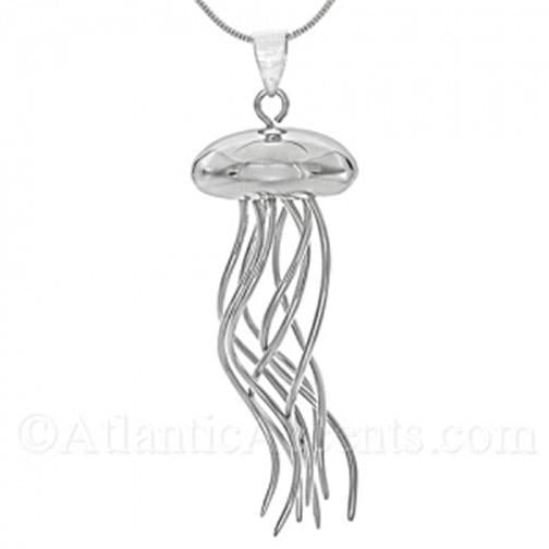 Moving Jellyfish Pendant