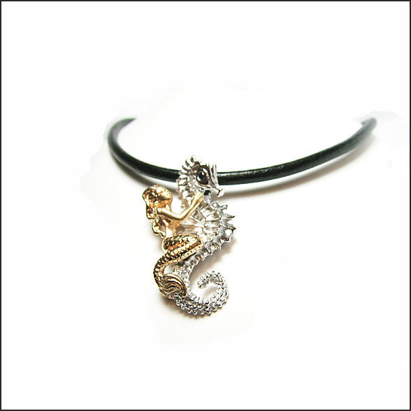 Mermaid and Seahorse Necklace 708340