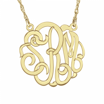 Henry's Classic Monogram Necklace