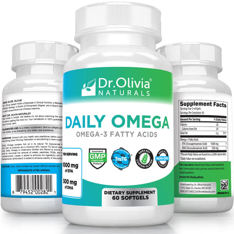 Daily Omega - High Potency Omega-3