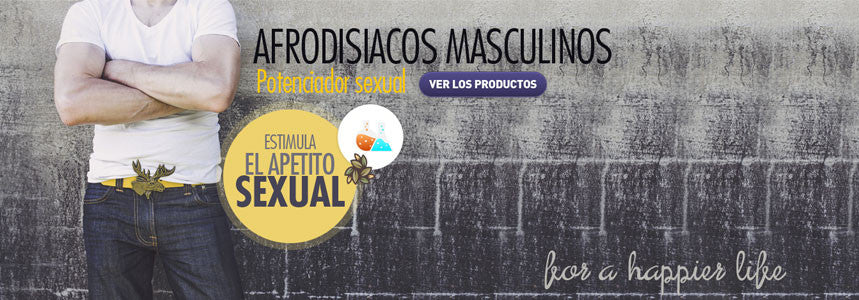 Afrodisiacos natural para Hombres Sex Fox