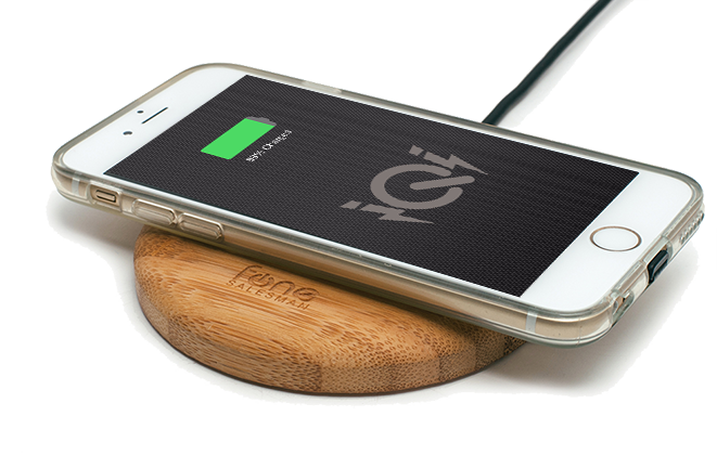 iQi Mobile Qi Wireless Receiver for Apple iPhone - Fonesalesman