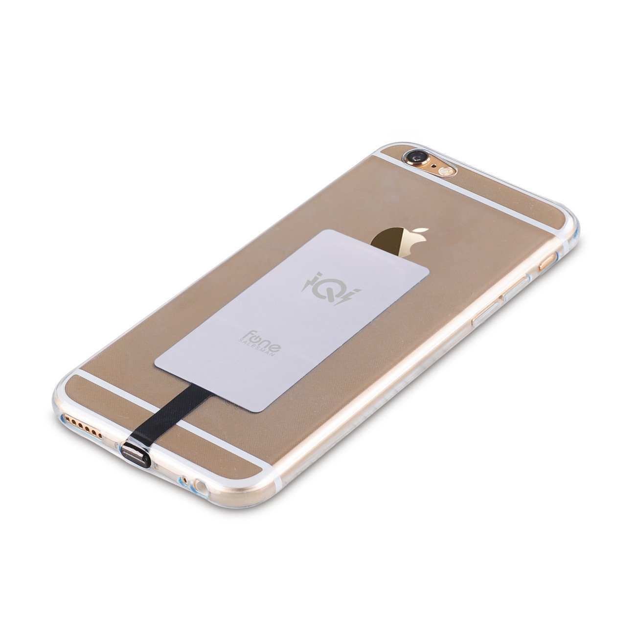 Iqi Mobile Wireless Charging Receiver Wire Center Voltage Regulator And Over Ov R15v00 Wiring Diagram Combined Qi For Apple Iphone Fonesalesman Rh Com Case