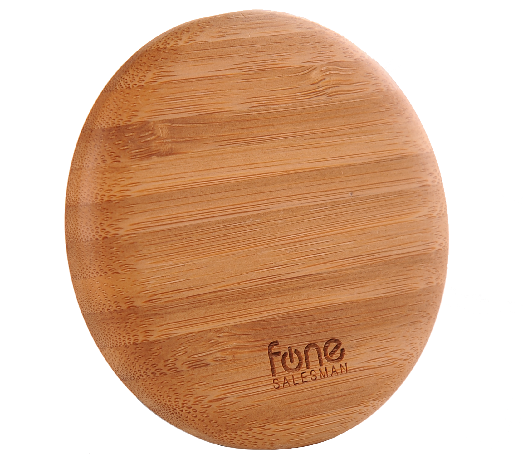 ... WoodPuck: Bamboo Edition Wireless Charger - Fonesalesman - 4 ...