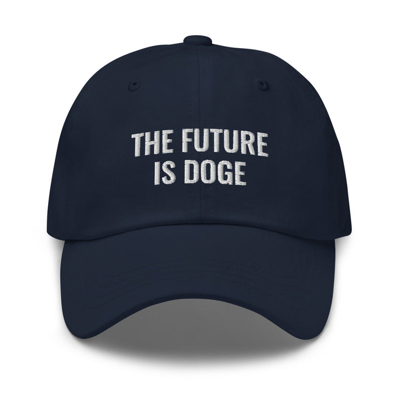 The Future is DOGE Dad Hat
