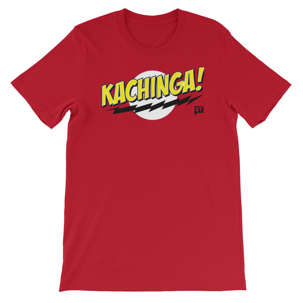 KACHINGA! Red Short-Sleeve Unisex T-Shirt