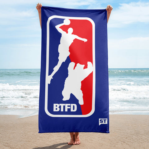 BTFD Bear Dunk Beach Towel