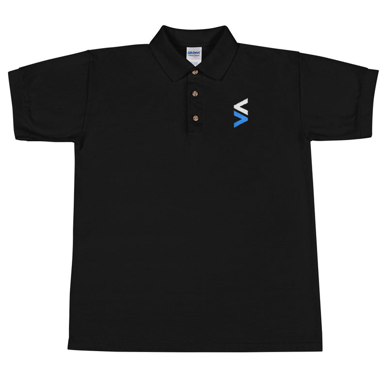 Stocktwits Logo Embroidered Polo Shirt