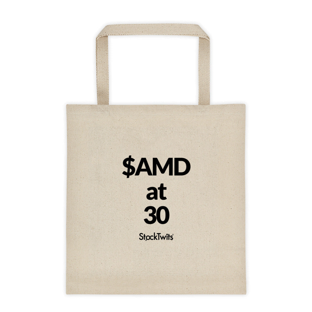 $AMD at 30 Bagholder Tote bag
