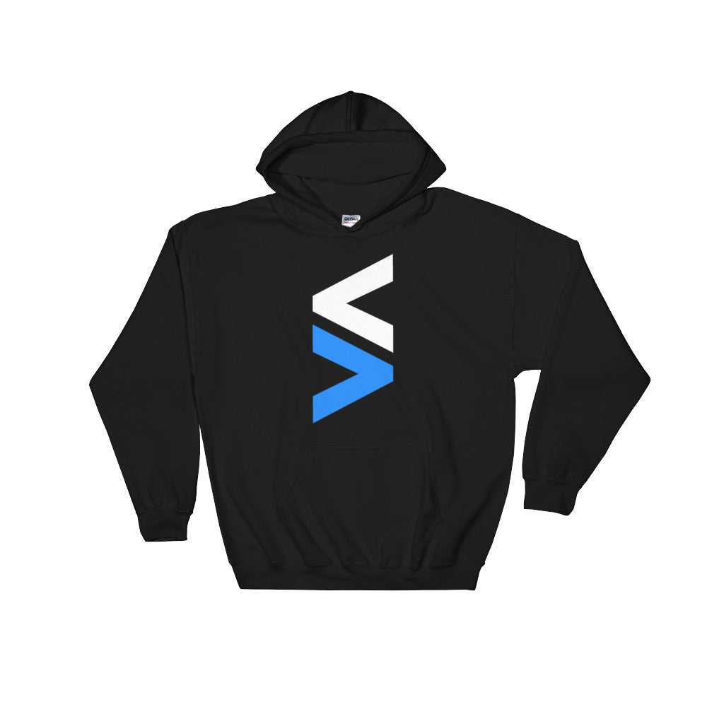 Stocktwits Black or Navy < > Hooded Sweatshirt