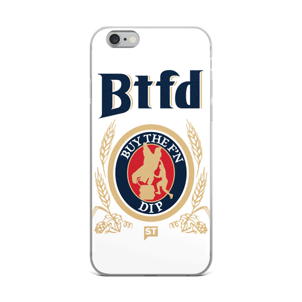BTFD Bear Kegstand iPhone 6/6s, 6/6s Plus Case