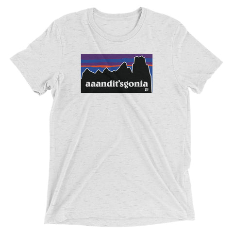 aaandit'sgonia Tri-blend Fabric in Multiple Colors Short sleeve t-shirt