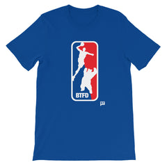 BTFD Bear Dunk 2017 Blue Unisex short sleeve t-shirt