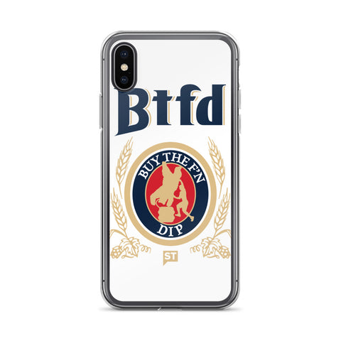 BTFD Bear Kegstand iPhone X Case