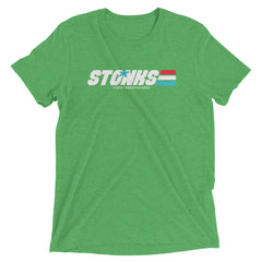 Stonks A Real American Hero Tri-blend Fabric in Multiple Colors Short sleeve t-shirt