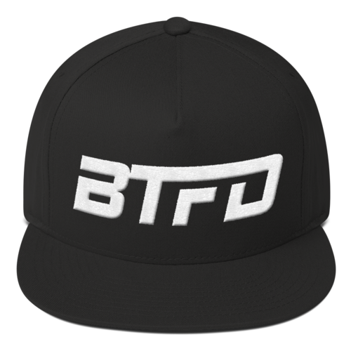 BTFD Dipcenter Black, Grey or Red Flat Bill Cap