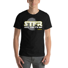 STFR Wars Black Heather Short-Sleeve Unisex T-Shirt