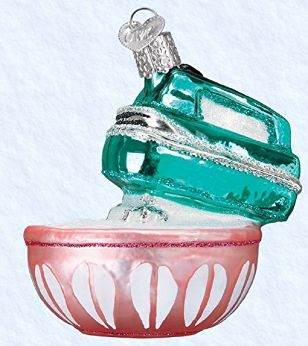 Old World Christmas Hand Mixer Glass Blown Ornament